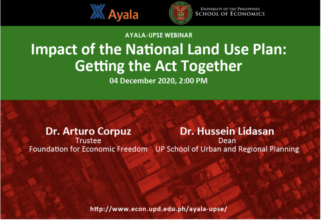 ACUPSE 1 (2020) Impact of The Land Use Bill v06